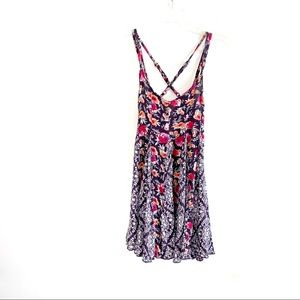 BP floral print mini sundress spaghetti strap